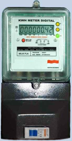 Kwh Meter Digital 1 Fasa Teknologi Informasi